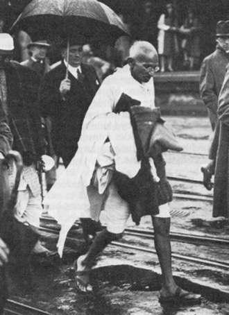 Conselhos de Gandhi para estas eleições 2