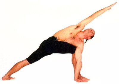 Parivritta Parshvakonásana: a torção estendida em pé 2