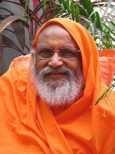 Swāmi Dayānanda Vedānta compaixão