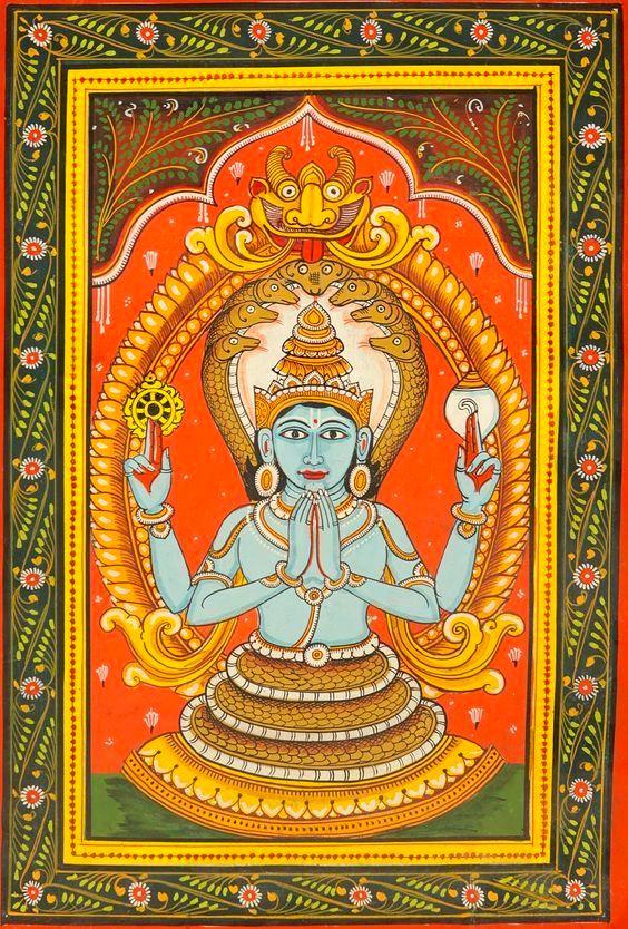Patañjali dhyāna śloka