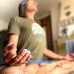 āsana e meditação